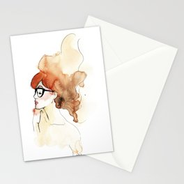 Woman's intimacy Stationery Cards
