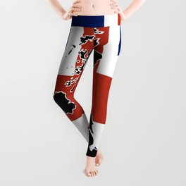 UK Silhouette and Flag Leggings
