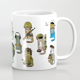 Military Cats Coffee Mug