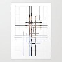 technology Art Prints featuring Technology by Robert J. Lopez