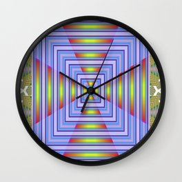 Geometrical Doors Wall Clock