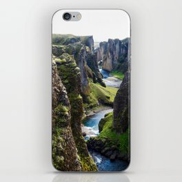 Icelandic Canyon iPhone Skin