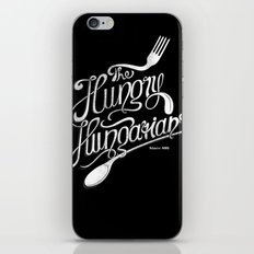The Hungry Hungarians iPhone & iPod Skin
