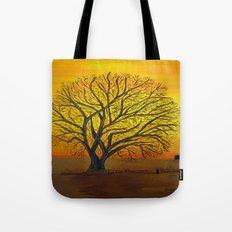 Rural sunset Tote Bag