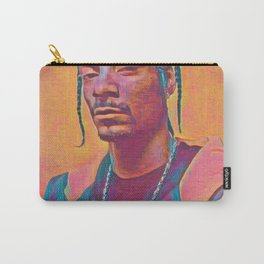Snoop Dogg Thoughtful Artistic Illustration Acid Acrylic Style Carry-All Pouch