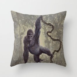 J.A.K Throw Pillow