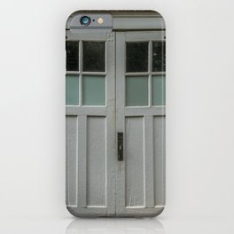 Brick and Wood iPhone Case