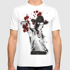 UNREAL PARTY 2012 THE WALKING DEAD Mens Fitted Tee White MEDIUM