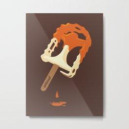Pedalicious! Metal Print