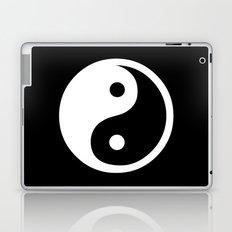 Yin Yang Black White Laptop & iPad Skin