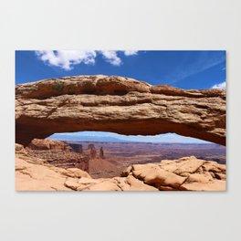 Mesa Arch View Canvas Print