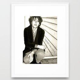 craig nicholls singer of the vines Framed Art Print