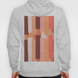 Line In Coral #society6 #abstractart Hoody