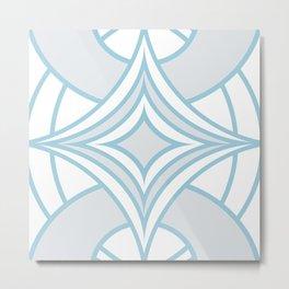 LHS-0002 Monochrome Contemporary Design  Metal Print