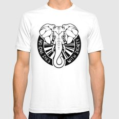 Elephant  |  Jason Isbell Mens Fitted Tee LARGE White