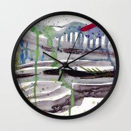 Bridge to New Wall Clock