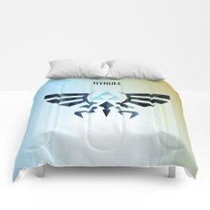 The Legend of Zelda - Hyrule Rising Poster Comforters