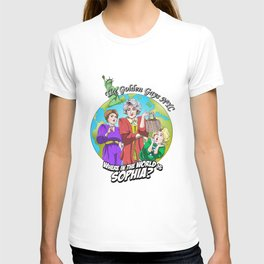 Where in the World is Sophia? Josh Dunbar cartoon T-shirt