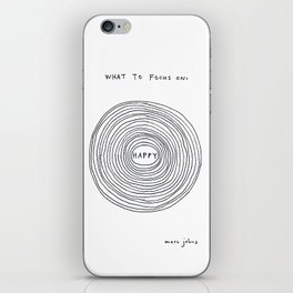 What to focus on iPhone Skin