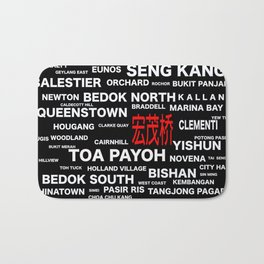 ESTATE OF SINGAPORE - ANG MO KIO Bath Mat