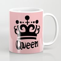 arya Mugs featuring Queen Levy by Arya