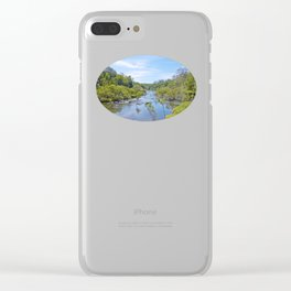 Beautiful tranquil river in the tropics Clear iPhone Case