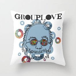 Grouplove  Throw Pillow