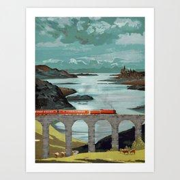 The Hogwarts Express Art Print