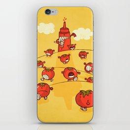 We were tomatoes! iPhone Skin