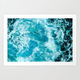 Sea Me Waving Art Print