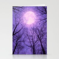 tolkien Stationery Cards featuring May It Be A Light (Dark Forest Moon II) by soaring anchor designs