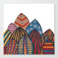 surf Canvas Prints featuring Surf by YsfKara