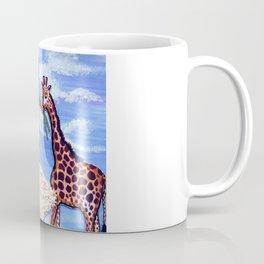 The African Safari Illustration By James Thomas Ryan Coffee Mug