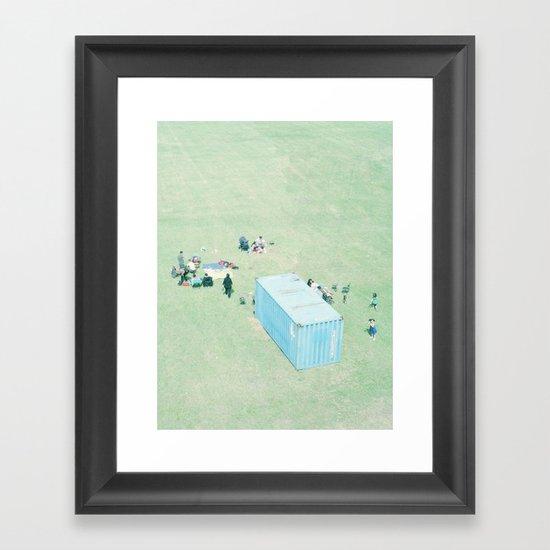 Public Viewing Framed Art Print