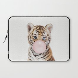 Bubble Gum Tiger Cub Laptop Sleeve