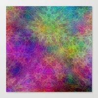 christ Canvas Prints featuring Christ by RingWaveArt