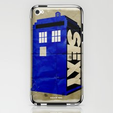 Minimalist Doctor Who  - SEXY TARDIS iPhone & iPod Skin