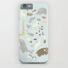 Animalphabet Slim Case iPhone 6s