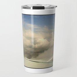 Just through the clouds Travel Mug