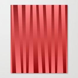 Red gradient Canvas Print