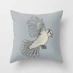 Dynamic Flight Throw Pillow