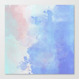 Watercolor V5 Canvas Print