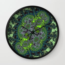 Fractal Fairy Ring Wall Clock