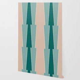 Eucalyptus Color Block Wallpaper