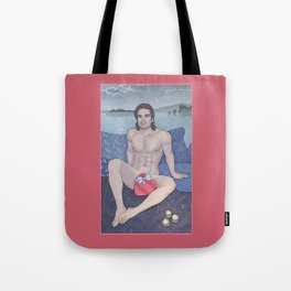 Bucky is my Sweetheart Tote Bag