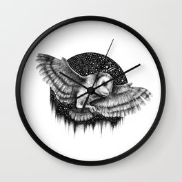THE NIGHT FLIGHT Wall Clock