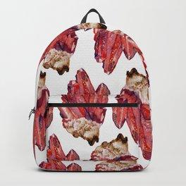 bloodstone crystal cluster Backpack