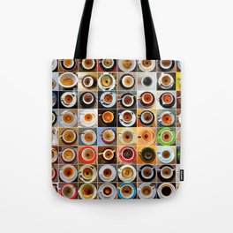 Three Months in Coffee Tote Bag