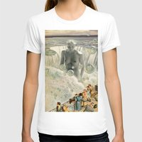 bath T-shirts featuring THE BATH by Julia Lillard Art