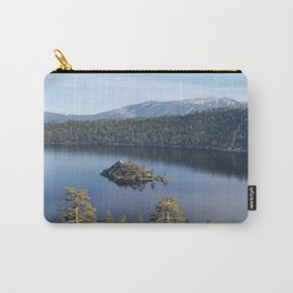 Serenity of Emerald Bay Carry-All Pouch